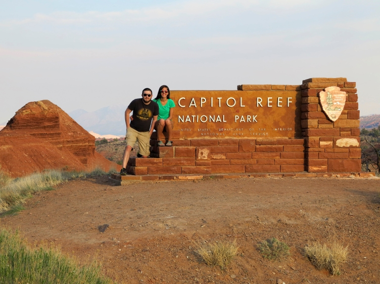 Capitol Reef Sign Better