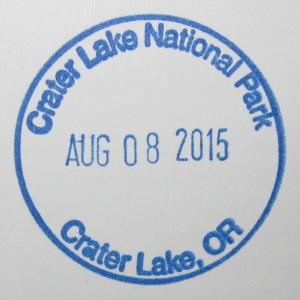 Crater Lake Stamp
