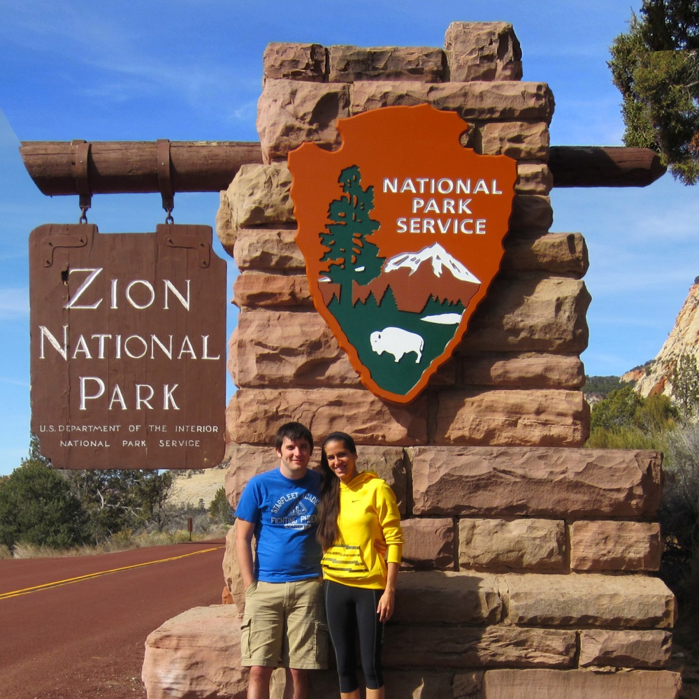 East Zion Sign Square