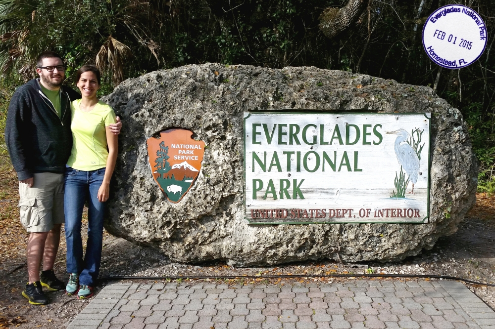 Everglades with Stamp