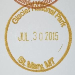 Glacier Stamp