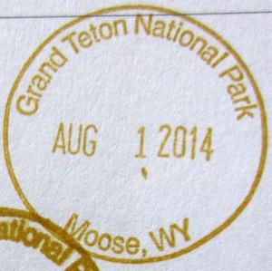 GTNP Stamp