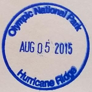 Hurricane Ridge Stamp