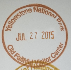 Yellowstone Stamp