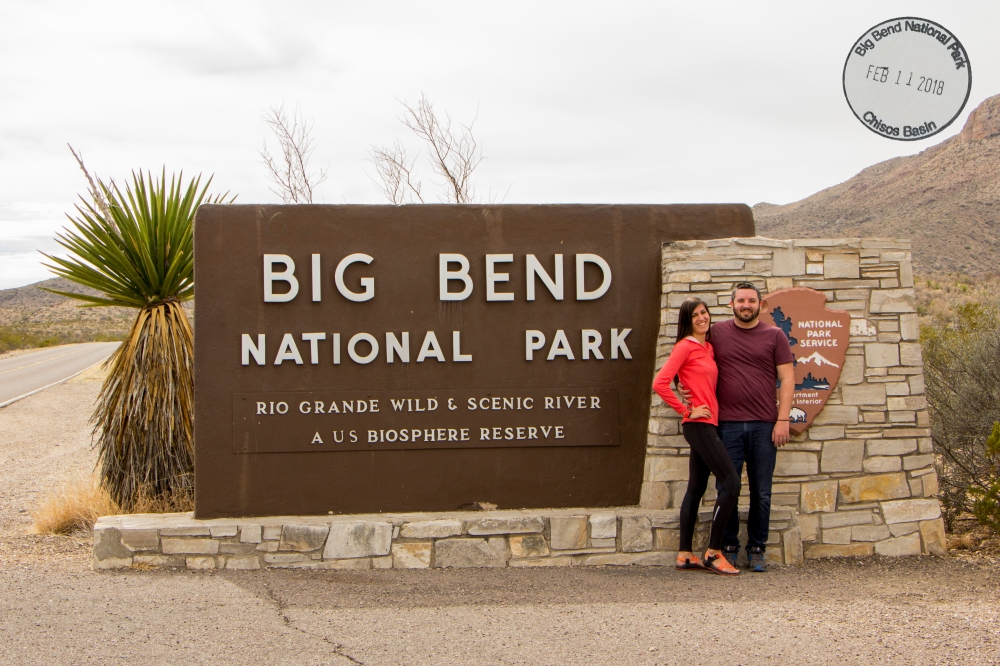 Big Bend Stamp
