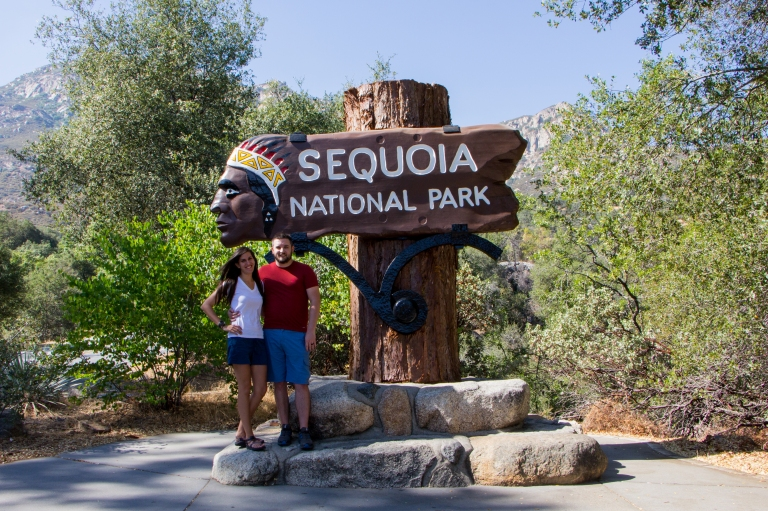 Indian Head Sign Sequoia